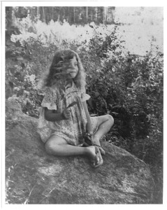 Emily Vera as a child, Terra Nova Nature School Educator