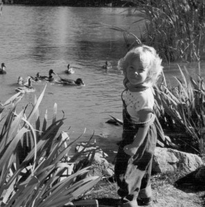 Heidi Ziegler as a child, Terra Nova Nature School Educator Assistant