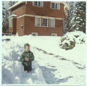 Tricia Booker as a child, Terra Nova Nature School Educator